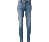Schmale Jeans mit lockerer Passform