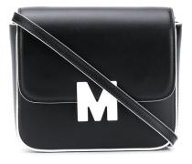 Umhängetasche mit Logo-Schild