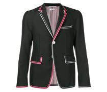 striped edge blazer