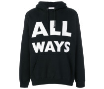 'All Ways' Kapuzenpullover