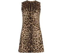 Minikleid mit Leopardenmuster