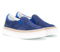Slip-On-Sneakers mit Plateau - kids