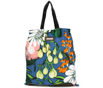 convertible folding shopper tote