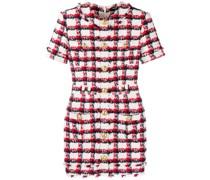 Tweed-Kleid mit schmaler Passform