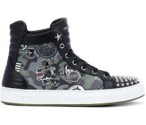 "High-Top-Sneakers mit ""Air Force""-Print"