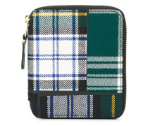 Portemonnaie mit Schottenkaromuster