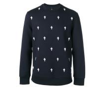 Sweatshirt mit bourbonischen Lilienmotiven