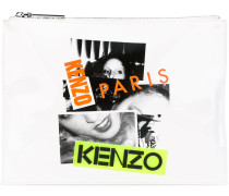 Clutch mit Print - women
