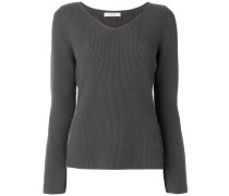wide Vneck jumper