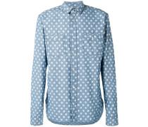 Jeanshemd mit Sterne-Print - men - Baumwolle