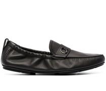 Loafer mit Gancini-Schild