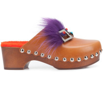 'Square Eye' Clogs