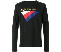 logo print long sleeve shirt
