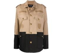 Military-Jacke mit Klappentaschen