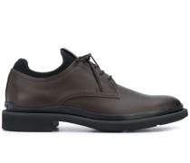Zweifarbige Oxford-Schuhe
