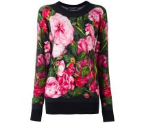 rose print jumper