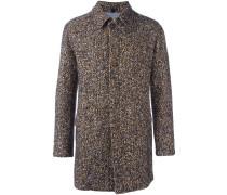 Tweed-Mantel mit langen Ärmeln