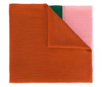 Kaschmirschal in Colour-Block-Optik