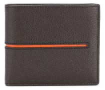 contrast stripe wallet