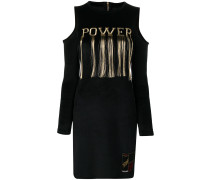 "Kleid mit ""Power""-Stickerei"