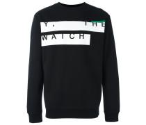 """Sweatshirt mit """"Y, The Watch""""-Print"""
