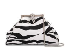 Clutch mit Zebra-Print