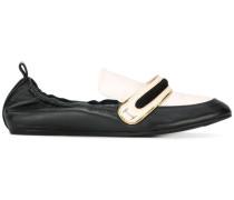 Zweifarbige Loafer