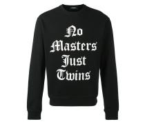 'No Masters Just Twins' Sweatshirt - men
