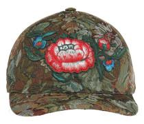 floral tapestry cap