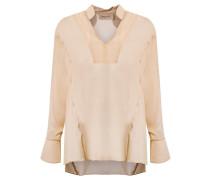 v neck shirt - women - Seide - M