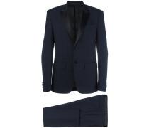 contrast lapel two piece suit