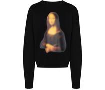 "Sweatshirt mit ""Mona Lisa""-Print"
