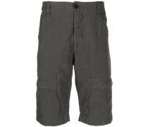 Schmale Shorts mit Knitteroptik