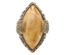 18kt gelbvergoldeter Ring mit Malteserkreuz