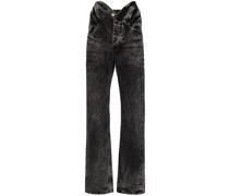Jeans mit Knotendetail