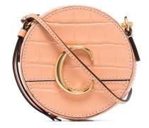 Runde Mini-Tasche mit C
