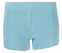 merino wool knitted shorts