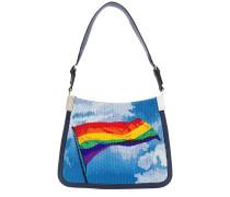 'Starry Bandiera Rainbow' Handtasche