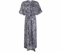 Cinnamon cotton voile dress