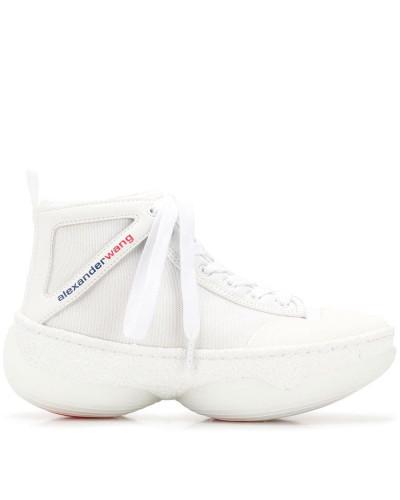 High-Top-Sneakers mit Schnürung