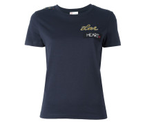 'Love' T-Shirt - women - Polyester/Viskose - S