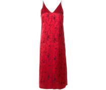 floral jacquard dress