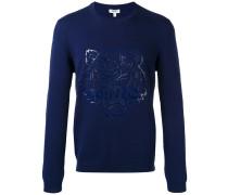 Pullover mit Tigermotiv - men - Baumwolle - XL