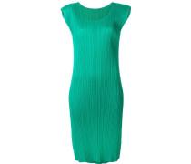 Kleid mit plissiertem Design