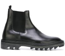 Chelsea-Boots mit geriffelter Sohle