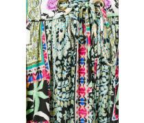 Seidenrock mit floralem Print - women - Seide