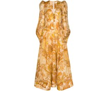 Tempo Honey Collage maxi dress