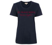 T-Shirt mit Logo-Stikerei