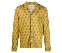 x Calida geometric-print pyjama top