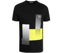 geometric-print logo T-shirt